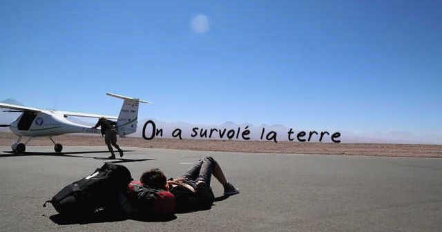Affiche_ON_A_SURVOLE_LA_TERRE video cadreur ©ludovic pollet chef opv cameraman opérateur de prise de vue